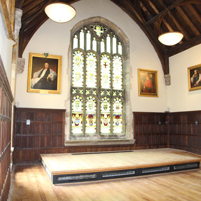 The Archbishop of York's Palace, Southwell – refurbished and accessible State Chamber with support from HLF