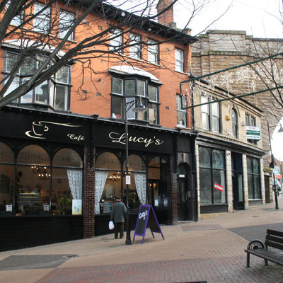 Grant assisted refurbishment of Grade II listed block in Mansfield town centre – 6 small retail units and 15 apartments