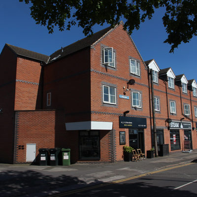 Speculative retail and residential project in Mapperley, Nottingham