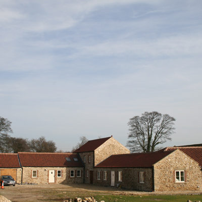 Sympathetic C17 barn conversion for owner – North Yorks – incorporates ground source heat pump