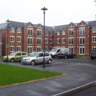 42 apartments for the fit elderly in Worksop with parking