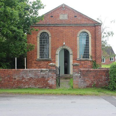 Residential conversion of a disused chapel at Preston on Wye.